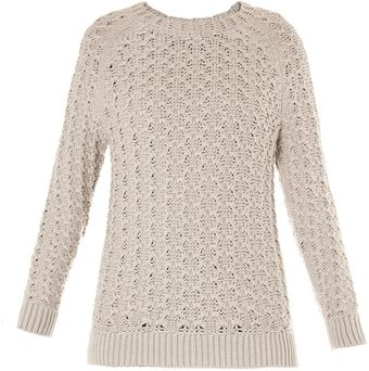 Theyskens' Theory Kice Yark Open Weave Sweater - Lyst