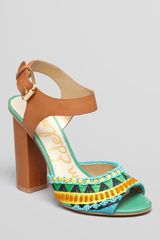 Sam Edelman Sandals Yuri Tribal High Heel - Lyst