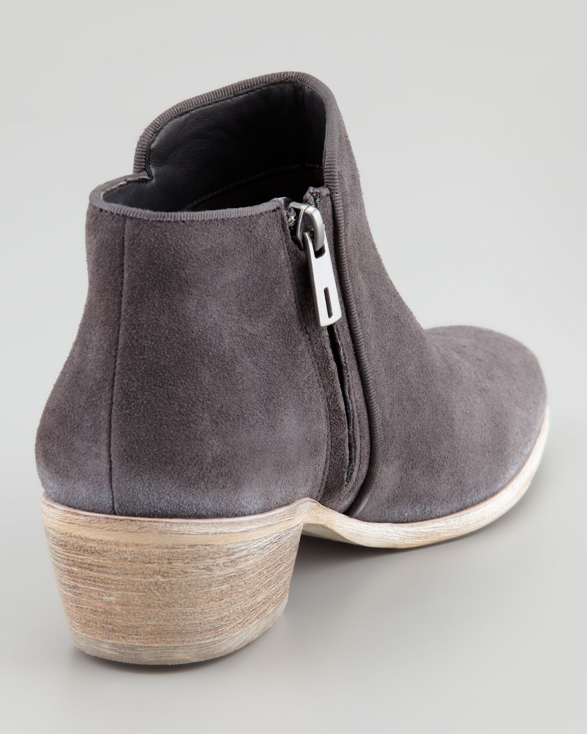 acfaf36edc5d0 Lyst - Sam Edelman Petty Suede Ankle Boot in Gray