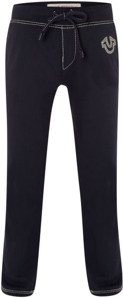True Religion Logo Jogger Pants - Lyst