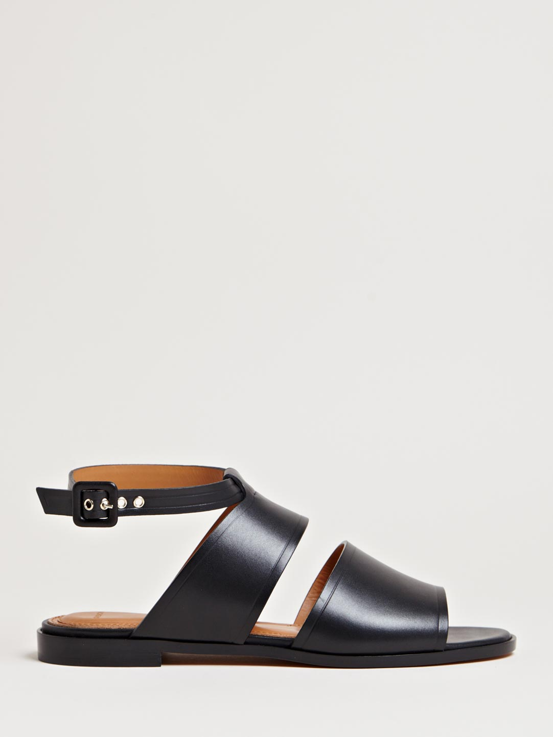 16d017554849 Lyst - Givenchy Womens Wide Strap Sandals in Black
