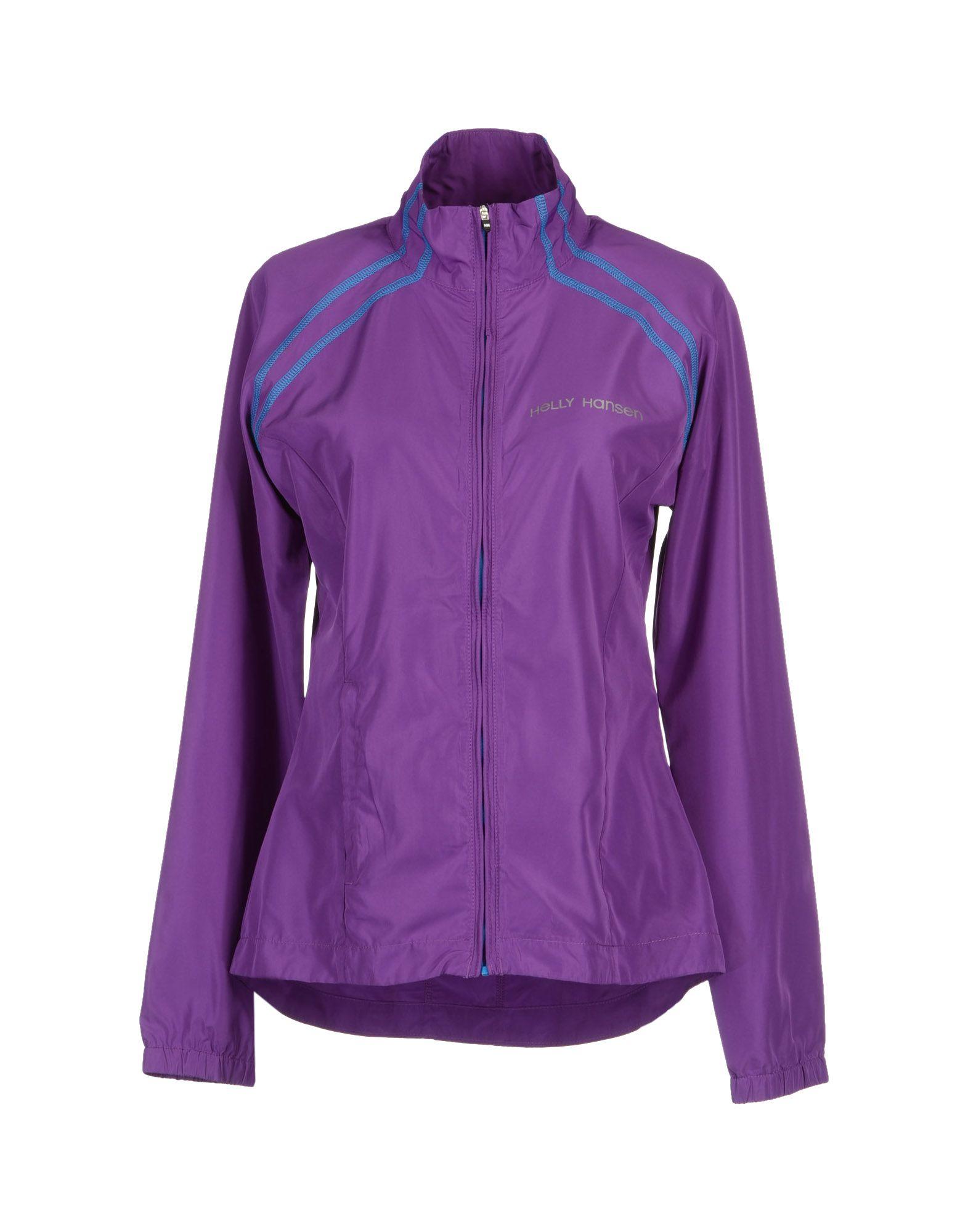 helly hansen zip sweatshirt in purple lyst. Black Bedroom Furniture Sets. Home Design Ideas