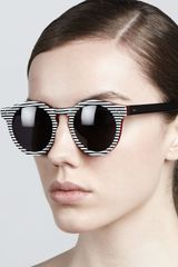 Illesteva Leonard Ii Striped Sunglasses - Lyst