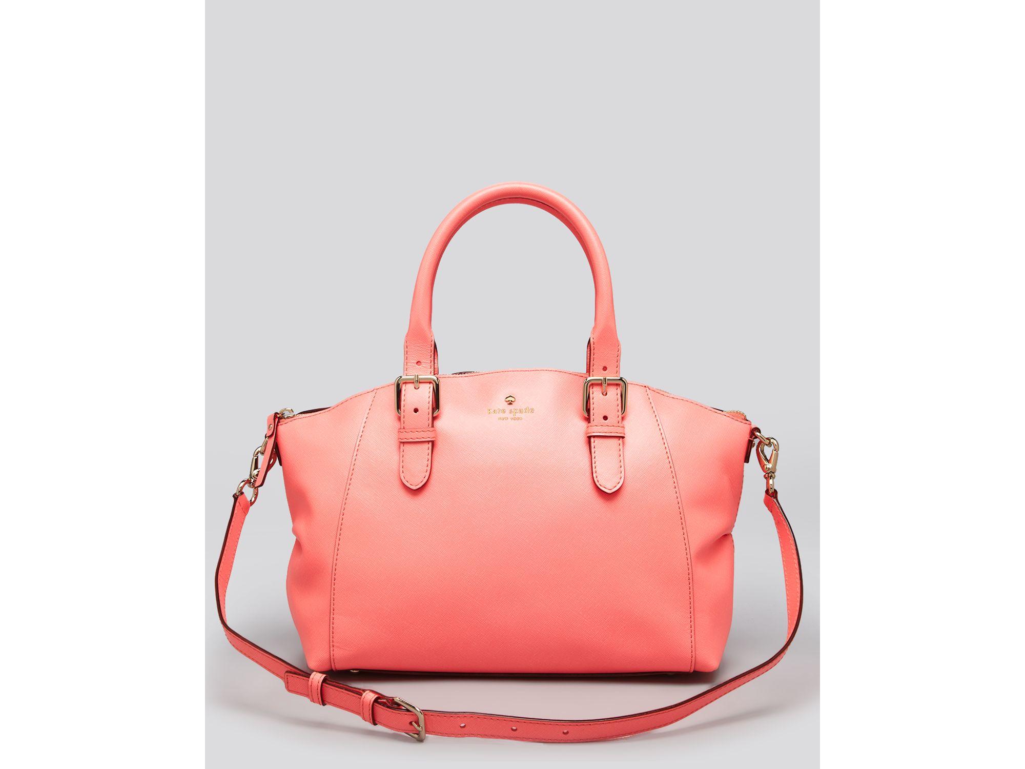 Lyst - Kate Spade Satchel Charlotte Street Small Sloan in Pink fa6fe8246cf53