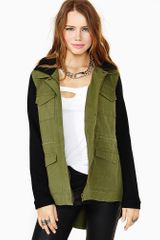 Nasty Gal Base Camp Army Jacket - Lyst