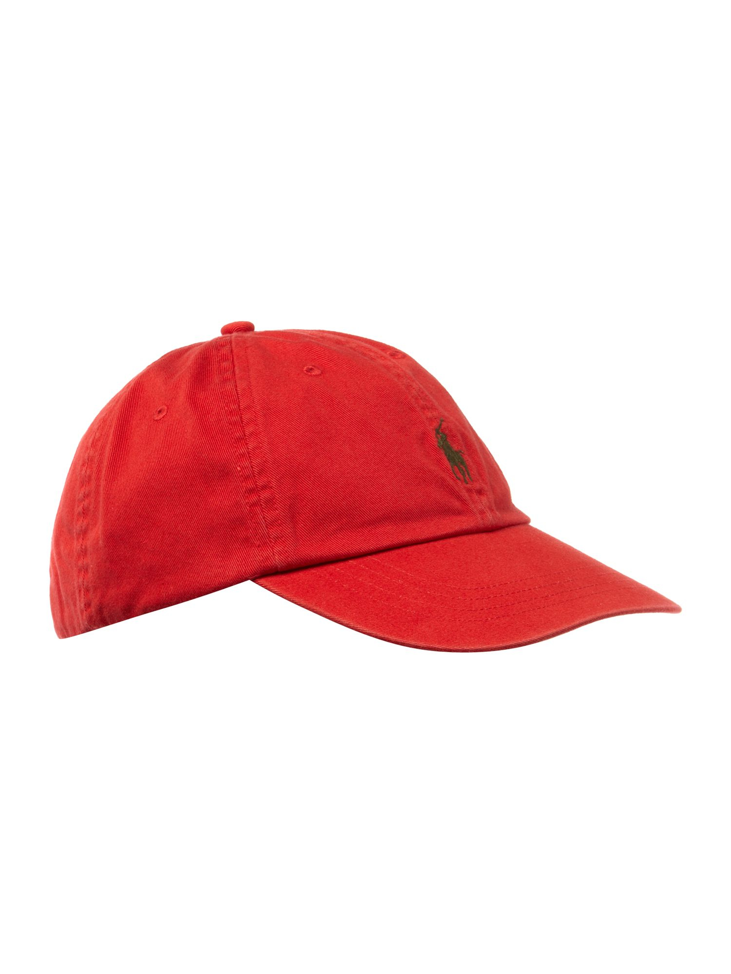polo ralph lauren classic ralph cap in red for men lyst. Black Bedroom Furniture Sets. Home Design Ideas