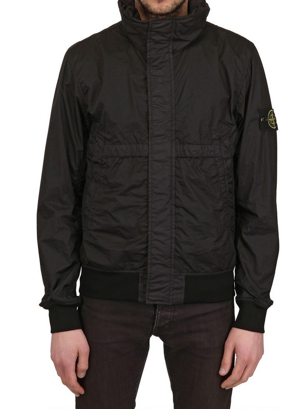 Lyst Stone Island Waterproof Dyed Nylon Bomber Jacket In