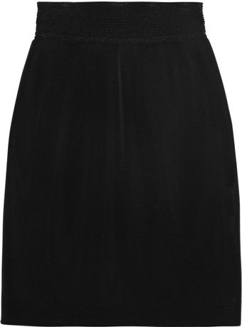 Theyskens' Theory Doublelayered Mesh Skirt - Lyst