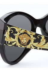 Versace Shield your eyes with these outstanding Versace™ sunglasses. in Black (b) - Lyst