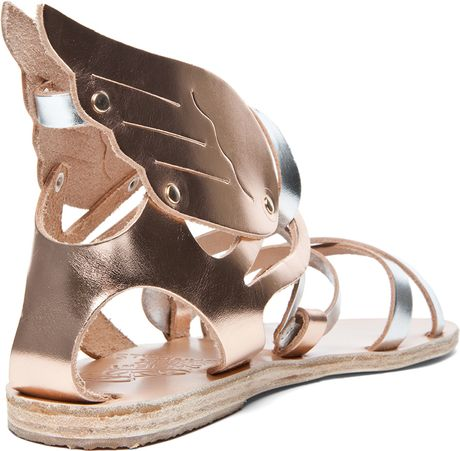 Ancient Greek Sandals Nephele Sandal In Metallic Mix In