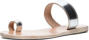 Ancient Greek Sandals Thalia Sandal in Silver - Lyst