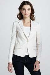 Elizabeth And James Abigail Jacquard Blazer - Lyst