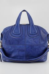 Givenchy Nightingale Medium Zanzi Satchel Bag Royal - Lyst