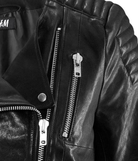 H&m Leather Jacket in