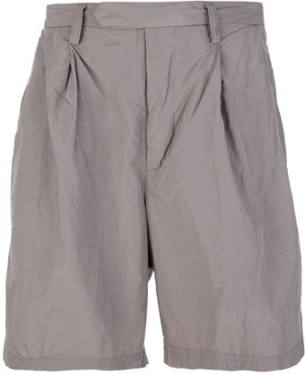 Kolor Wrinkle Effect Shorts - Lyst