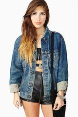 Nasty Gal Levis Denim Jacket Sunkissed - Lyst