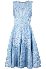 Temperley London Jacquard Dress - Lyst
