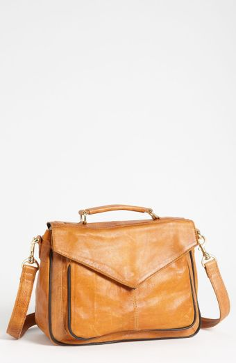 Topshop 70s Leather Satchel - Lyst