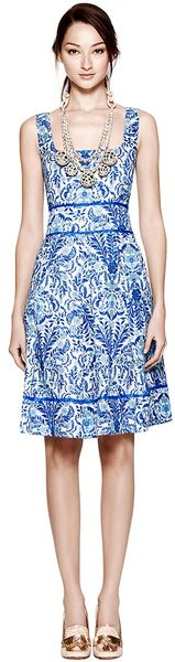 Tory Burch Ramona Dress - Lyst