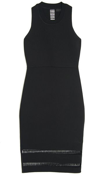 Alexander Wang Spine Cut-out Tank Dress - Lyst