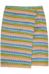 Boy by Band Of Outsiders Jacquard Ribbon Wrap Skirt - Lyst