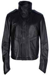 Juun.j Leather Jacket - Lyst