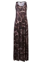 Lanvin Vault Printed Maxi Dress - Lyst