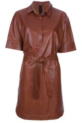 Petar Petrov Shirt Dress - Lyst