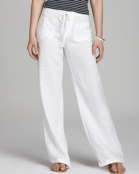 Popular Pants Women S Resort Wear Island Company More White Relaxed Pants
