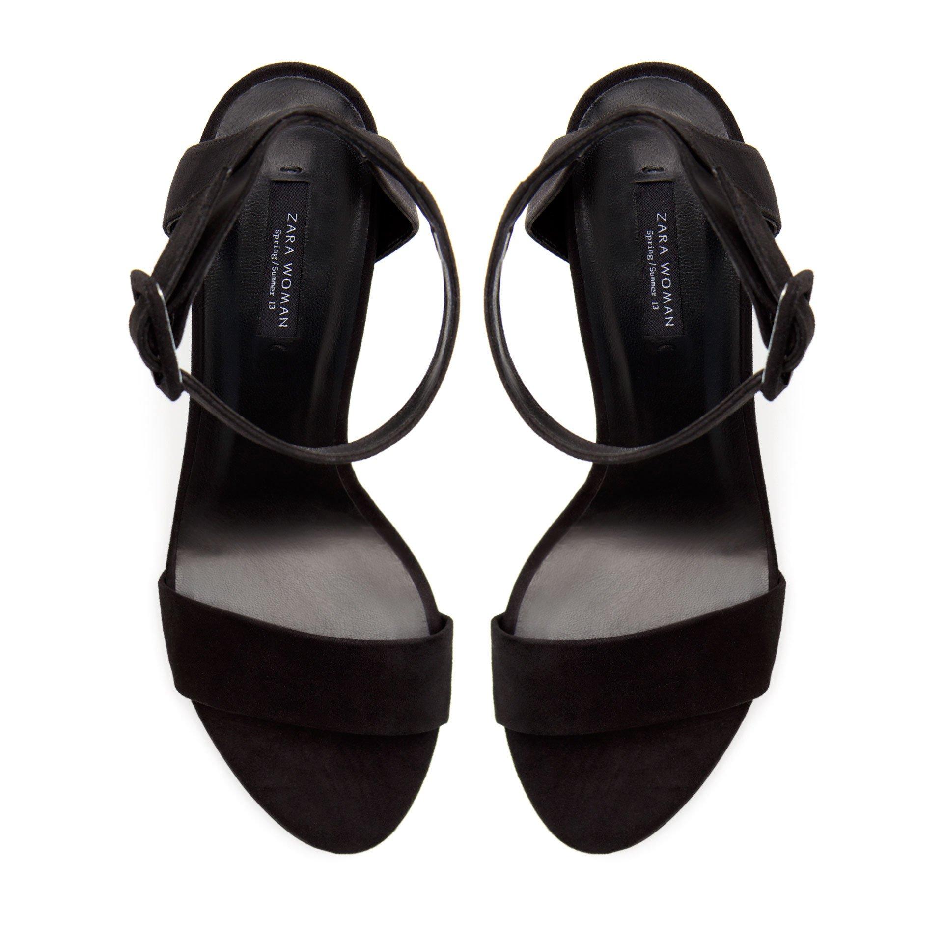 Black sandals 2 inch heel - Gallery