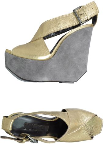 Gianni Barbato Wedges - Lyst