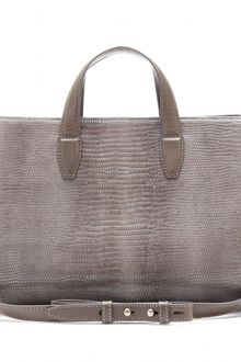 Alexander Wang Pelican Leather Tote - Lyst