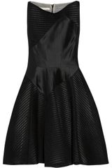 Antonio Berardi Flared Mesh Dress - Lyst