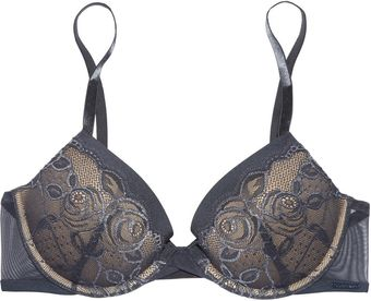 Calvin Klein Honeysuckle Rose Lace Contour Bra - Lyst