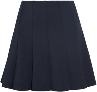 Camilla & Marc Pleated Jersey Mini Skirt - Lyst