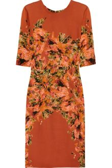 Erdem Ivy Printed Silk Dress - Lyst