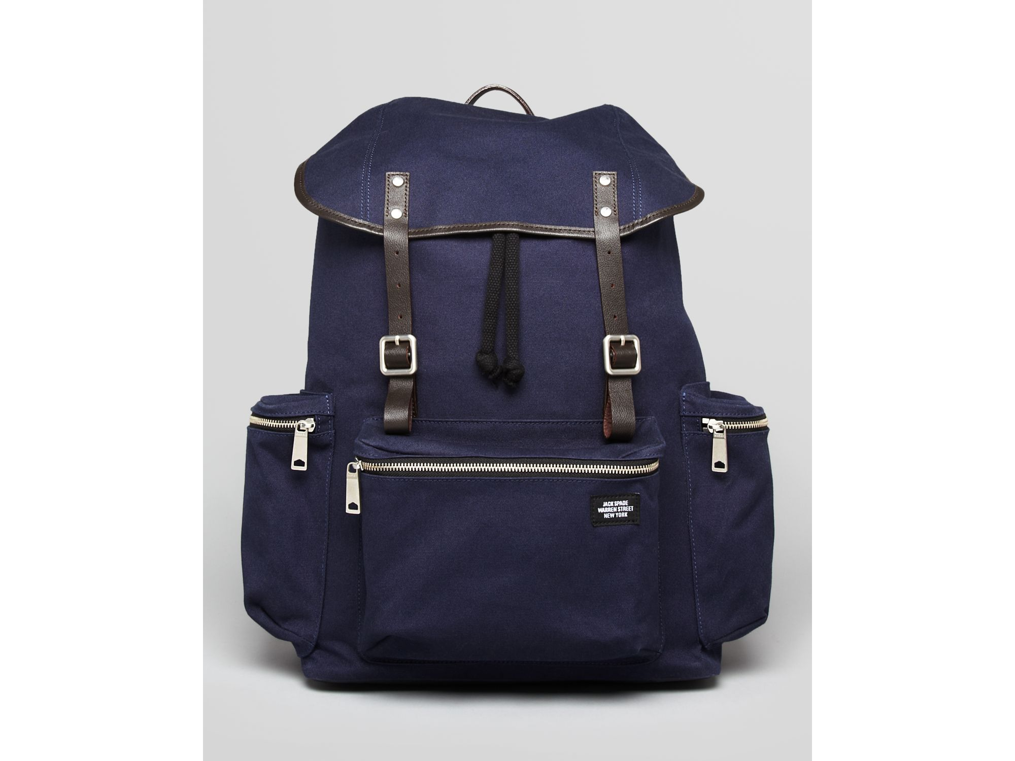 Lyst Jack Spade Field Canvas Backpack In Blue For Men