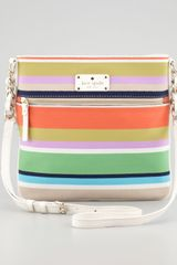 Kate Spade Cobble Hill Stripe Ellen Crossbody Bag - Lyst