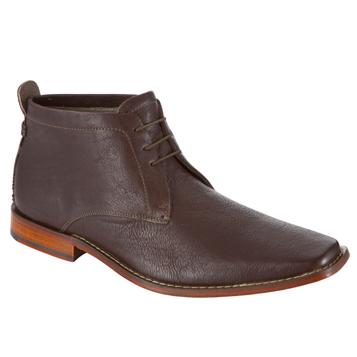 ace482600a40 Ted Baker Ashcroft Leather Chukka Boots Brown in Brown for Men - Lyst