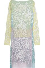 Christopher Kane Tulle Embroidered Dress