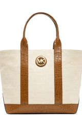 Michael by Michael Kors Medium Canvas Tote - Lyst