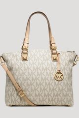 Michael by Michael Kors Satchel Jet Set - Lyst