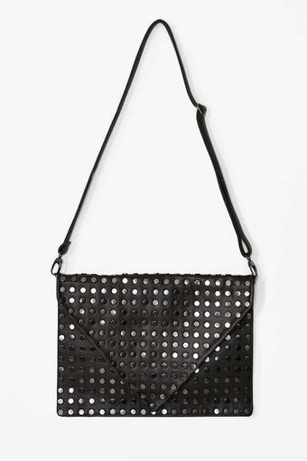 Nasty Gal Bolted Down Clutch - Lyst