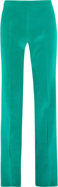 Gucci Silktwill Flared Pants - Lyst