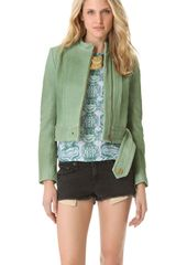 Kelly Wearstler Jasper Leather Jacket - Lyst
