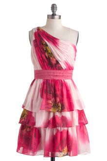 ModCloth Botanical Garden Gala Dress - Lyst