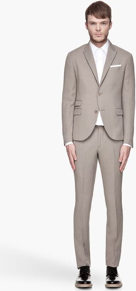 Neil Barrett  Deconstructed Suit - Lyst