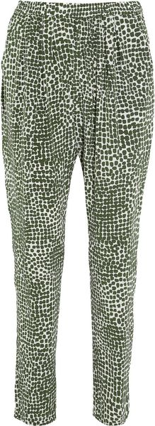 Stella McCartney Printed Silk Pants - Lyst