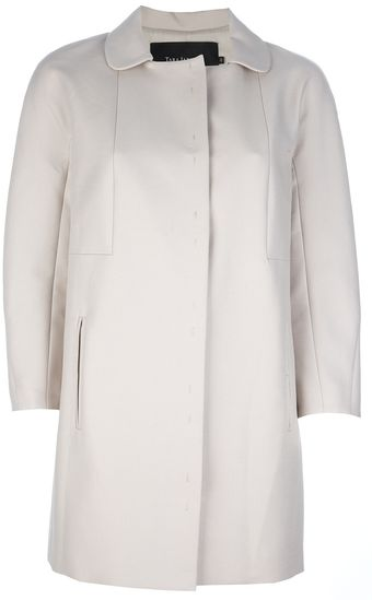 Tara Jarmon Cotton Coat - Lyst