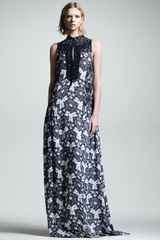 A.L.C. Lee Kaleidoscope Silk Maxi Dress - Lyst